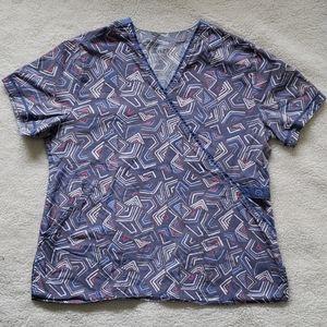 WONDERWINK scrubs top